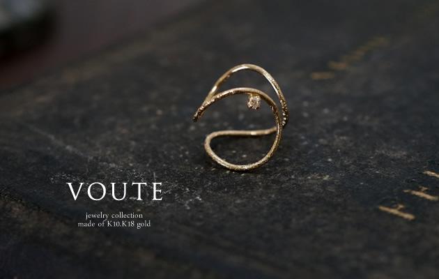 VOUTE ダイヤのイヤーカフ K18