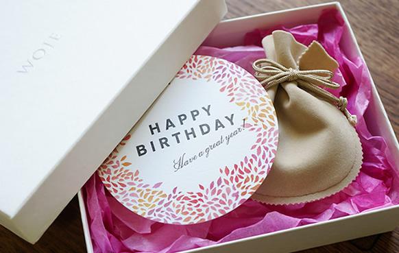 誕生日用ギフト包装