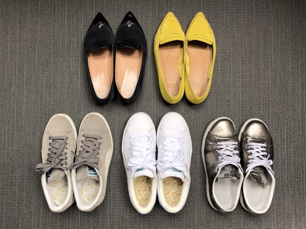 ぺたんこ靴