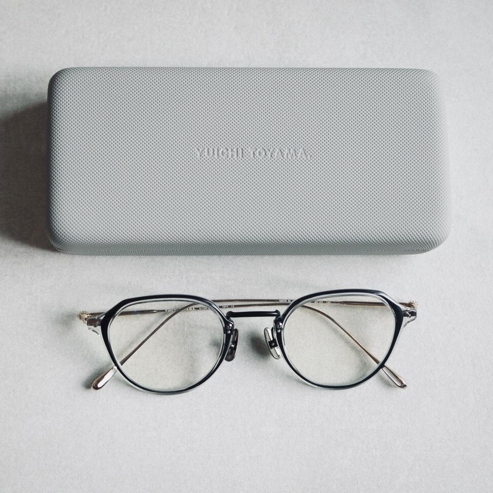 YUICHI TOYAMA. 眼鏡